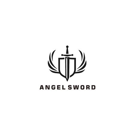 Sword for modern logo design