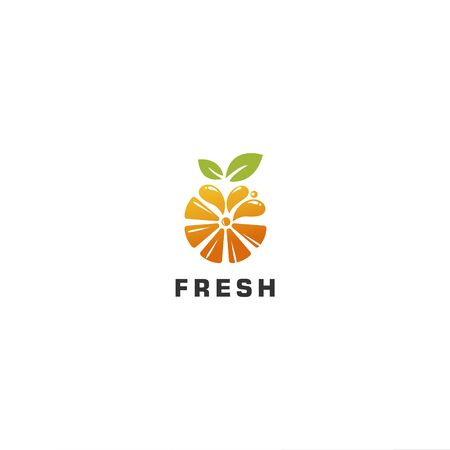 Orange Juice for modern logo