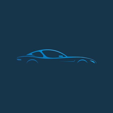 Simple Car Modern Logo Design