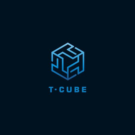 cube  for initial letter T