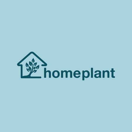 Simple logo design for Home Plant