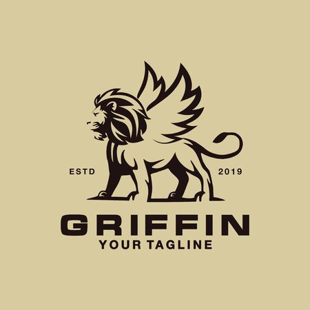 Modern Logo template for Griffin