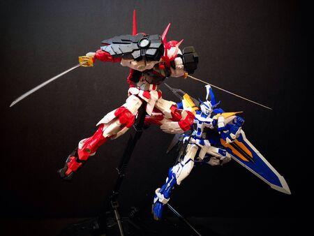 astray: Gundam Astray Versions Stock Photo