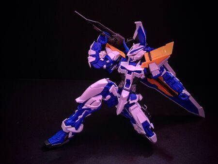 d: Gundam Astray Blue Frame D
