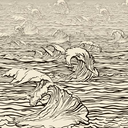 over the sea: Wind velocity over the sea