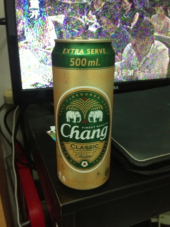 chang: Chang beer from Thailand