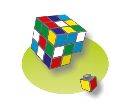 cube toy Stock Photo - 15472630