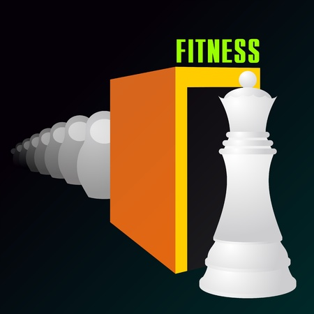 Fitness can turn matryoshka doll into chess queen