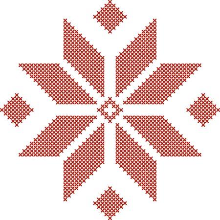 gestickt: Wei�russisch traditionellen bestickten Muster
