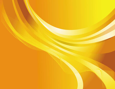 Abstract web design on yellow  background