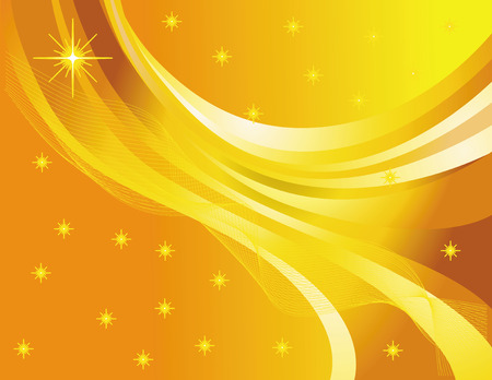 strip structure: Abstract web design on yellow  background