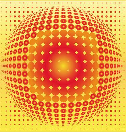 Sphere digital background black, disco ball, nightclub