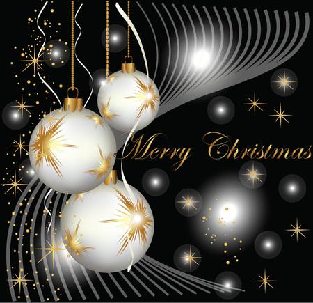Weihnachtskarte Vektorgrafik