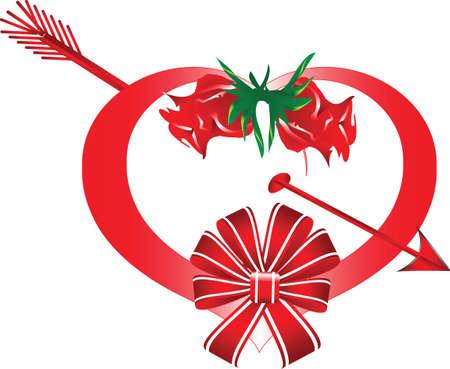 broken heart for Valentine's Day Stock Vector - 8614441