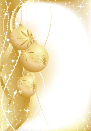 illustration contains the image of christmas greeting Vector