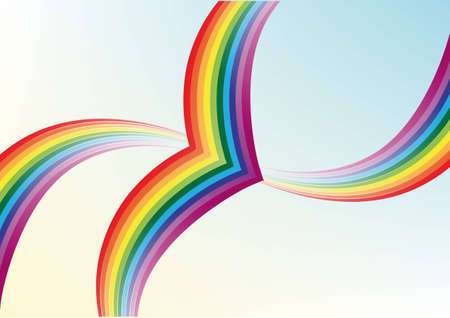 Abstract background. Multi-colored rainbow