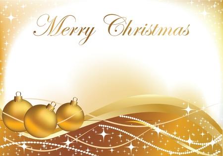 New Year's kaart voor Kerstmis