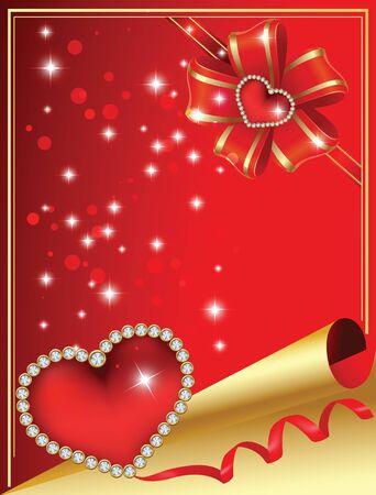 enamoured: Card to St. Valentine. Valentines Day