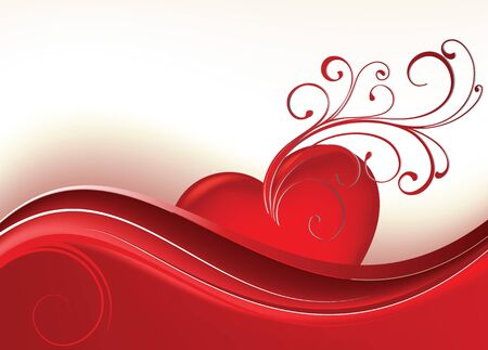 Card to St. Valentine. Valentines Day Vector