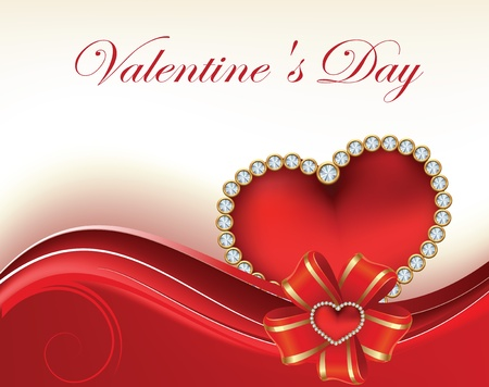 Card to St. Valentine. Valentine's Day Vector