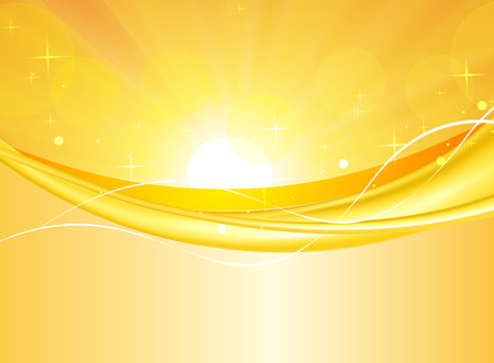 bright: Abstract, bright yellow background Illustration