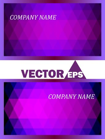 datos personales: La tarjeta de visita de trabajo de los datos personales Vectores