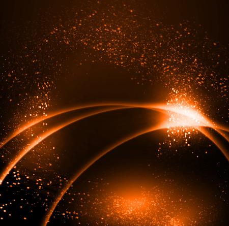 행성 떠오르는 태양 벡터 (일러스트)