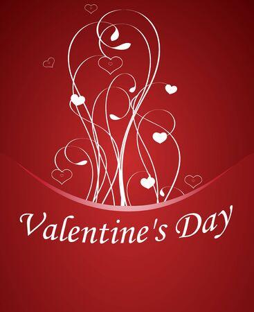 heart month: Card to St. Valentine. Valentines Day