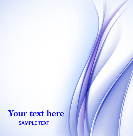 Abstract fractal background in blue white colors