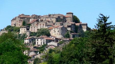 Village of Cordes-sur-Ciel, Tarn, France