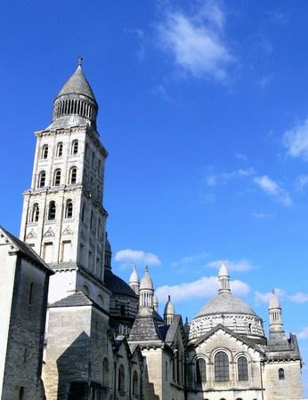 Saint-Front cathedral of P�rigueux, Dordogne, France Stok Fotoğraf