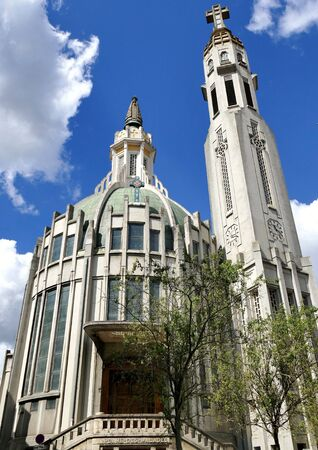 Church of Our Lady of the Sick in the city of Vichy, Allier, France