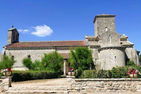 Carolingian Oratory of Germigny-des-Pres, Loiret, France