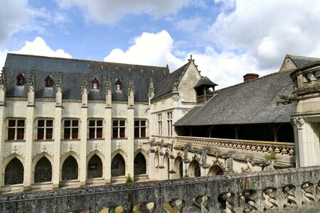 The cloister of the Psalette in Tours