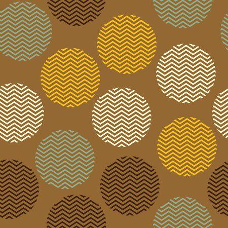 Bezszwowe wektor brązowy wzór z teksturą kropek. Projekt nadruku na powierzchni