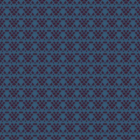 A seamless vector abstract geometric weave pattern with simple dark shapes. Surface print design. Standard-Bild - 129606086