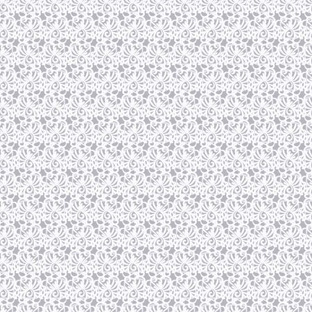 A seamless vector pattern with organic shapes in light grey. Surface print design. Çizim