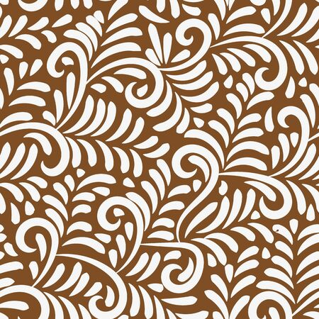 A seamless vector pattern with ornamental iced gingerbread. Ornate surface print design. Great for christmas textiles, cards, wrapping paper and packaging.