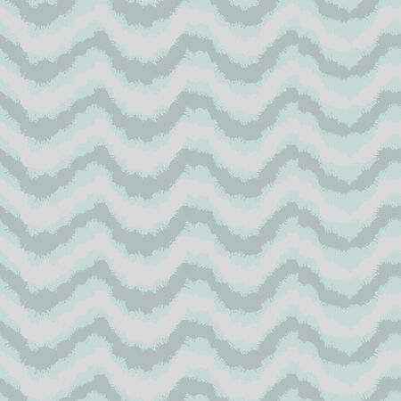 A seamless vector pattern with wavy horizontal ink splashed waves in calm pale colors. Surface print design.