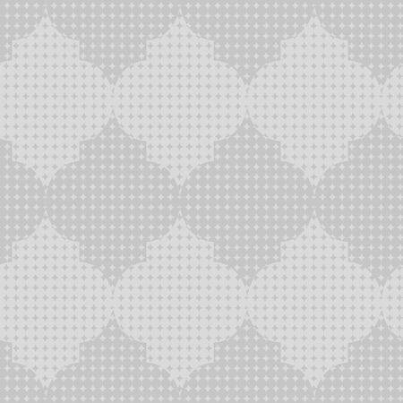 A seamless vector pattern background with geometric shapes in greyscale. Abstrat surface print design. Иллюстрация