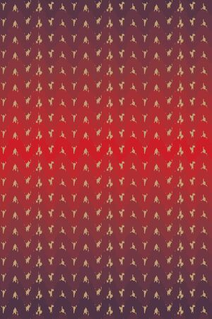 A seamless vector pattern with red ombre knit texture. Surface print design. Great for christmas ans winter themed backgrounds, wrapping paper and packaging.
