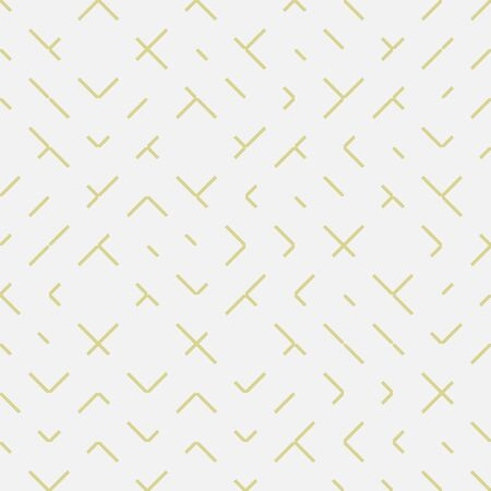 A seamless abstract geometric linear minimal vector pattern. Surface print design in light colors.