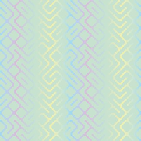 A seamless vector abstract pattern with shiny pastel lines. Decorative surface print design. Great for backgrounds, stationery and packaging.