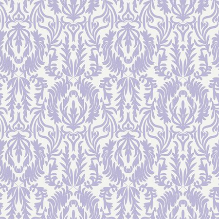 A vintage pastel damask seamless vector pattern background. Decorative ornate surface print design. Great for elegant fabrics and stationery. Stock Illustratie