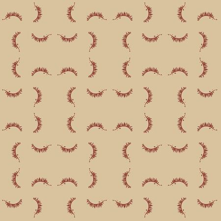 A seamless vector pattern with little headgehogs in geometric layout. Surface print design. Ilustrace