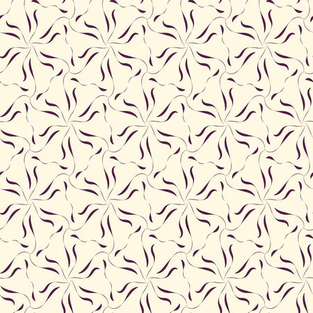 A seamless vector abstract pattern with star shapes hexagonal web ornament. Lacy surface print design. Stock Illustratie