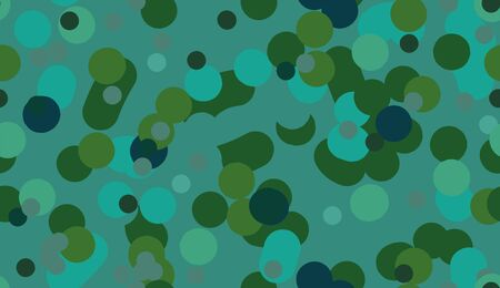 A seamless vector abstract green bubbling mixture pattern. Surface print design.