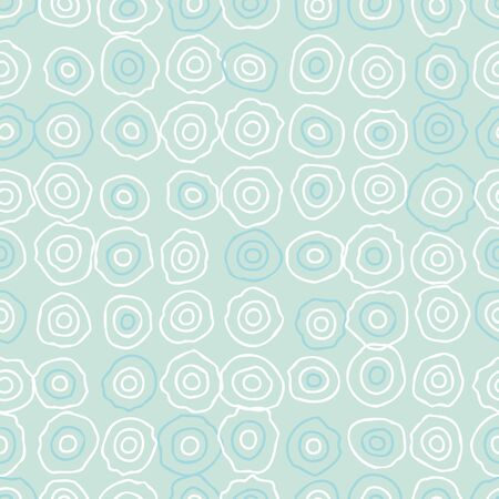 Ripples outlines seamless pattern in pastel blue and white colors. Simple minimal surface print design. Great for backgrounds and textures for wellbeing, wellness and nature themed projects.