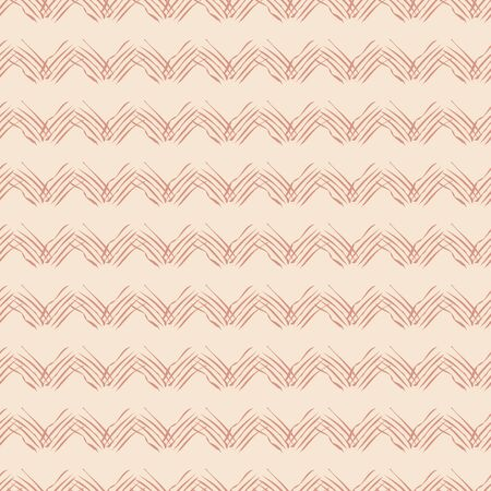 Ethnic chevron seamless vector pattern in light colors. Unisex surface print design. For fabric, stationery, and packaging.