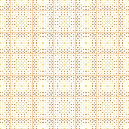 Vintage crochet lace seamless vector pattern in light colors. Decorative surface print design. For fabrics, wedding stationery, nostalgic scrapbook paper, backgrounds, and packaging.